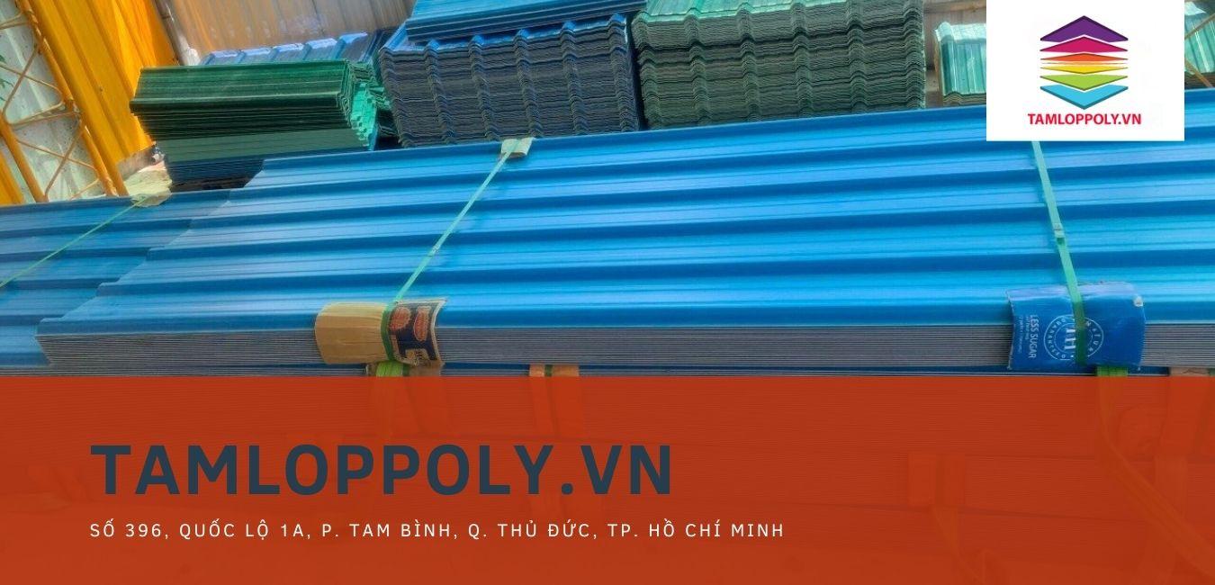 tôn nhựa ASA PVC