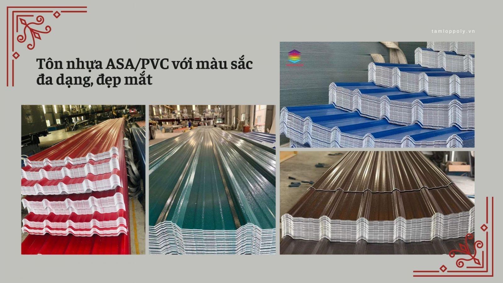 tôn ASA PVC