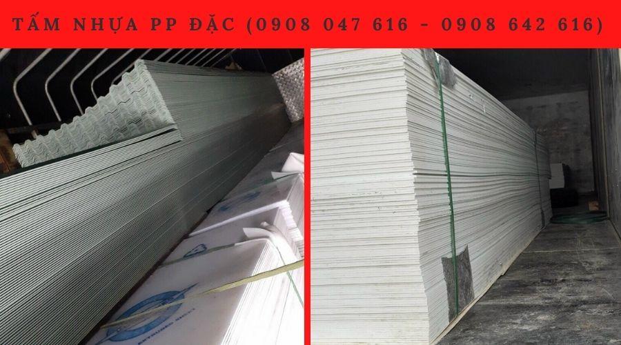 Công ty Sơn Băng là nơi bán tấm nhựa PP đặc đáng tin cậy tại Hồ Chí Minh